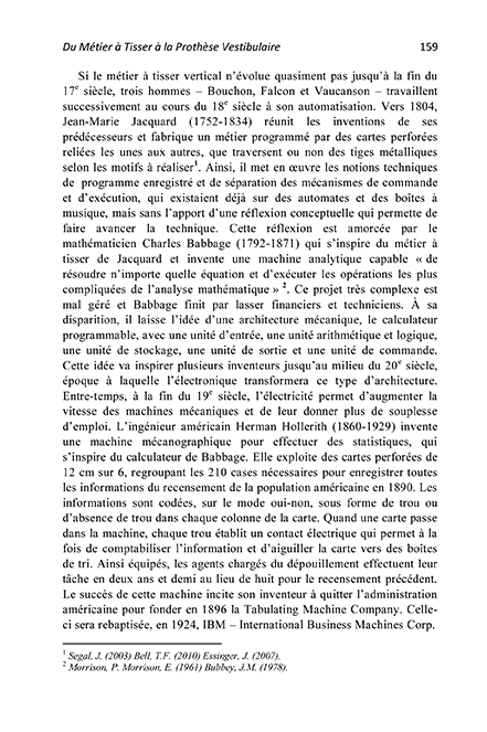 Page 2 - L'horloge Vestibulaire