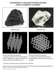 Analogie Lavoisier Diamant charbon domaine source domaine cible neurosciences theorie sensorielle