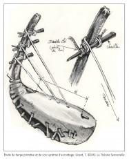 Harpe, console, corde, chevilles, tristan girard, philippe roi