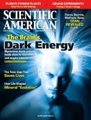 science-scientific american dark energy énergie noire cerveau non conscient cognitif theorie sensorielle