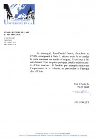 Jean-Daniel_Forest, main, Mésopotamie moule à briques, théorie sensorielle, analogie, philippe roi, tristan girard